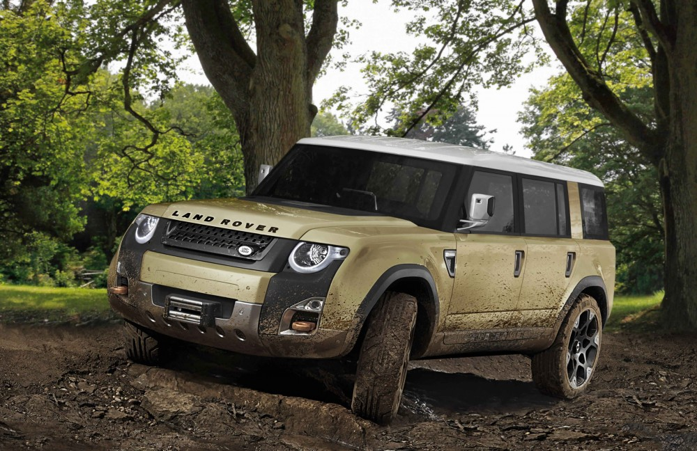Land Rover « Defender » choisi Goodyear
