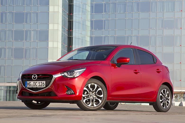 Equipement d'origine sur la nouvelle Mazda 2